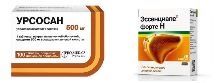 «урсосан» или «хофитол» — отличия препаратов и что лучше | в чем разница