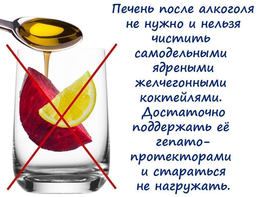 Чем почистить печень после алкоголя | советы доктора