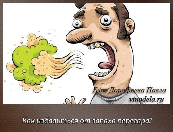 Как убрать запах перегара изо рта быстро в домашних условиях