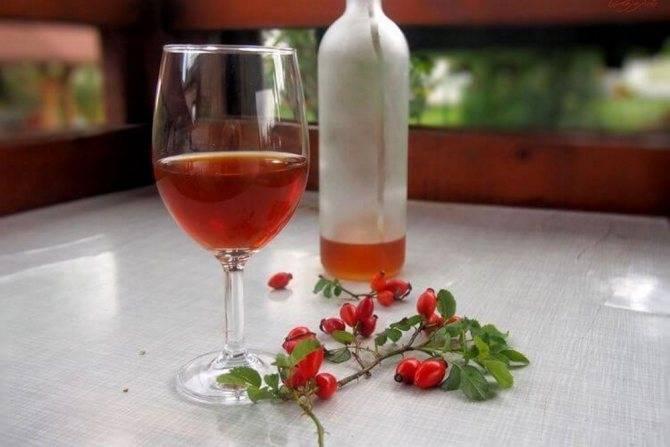 Вино из шиповника в домашних условиях из свежих и сушеных плодов