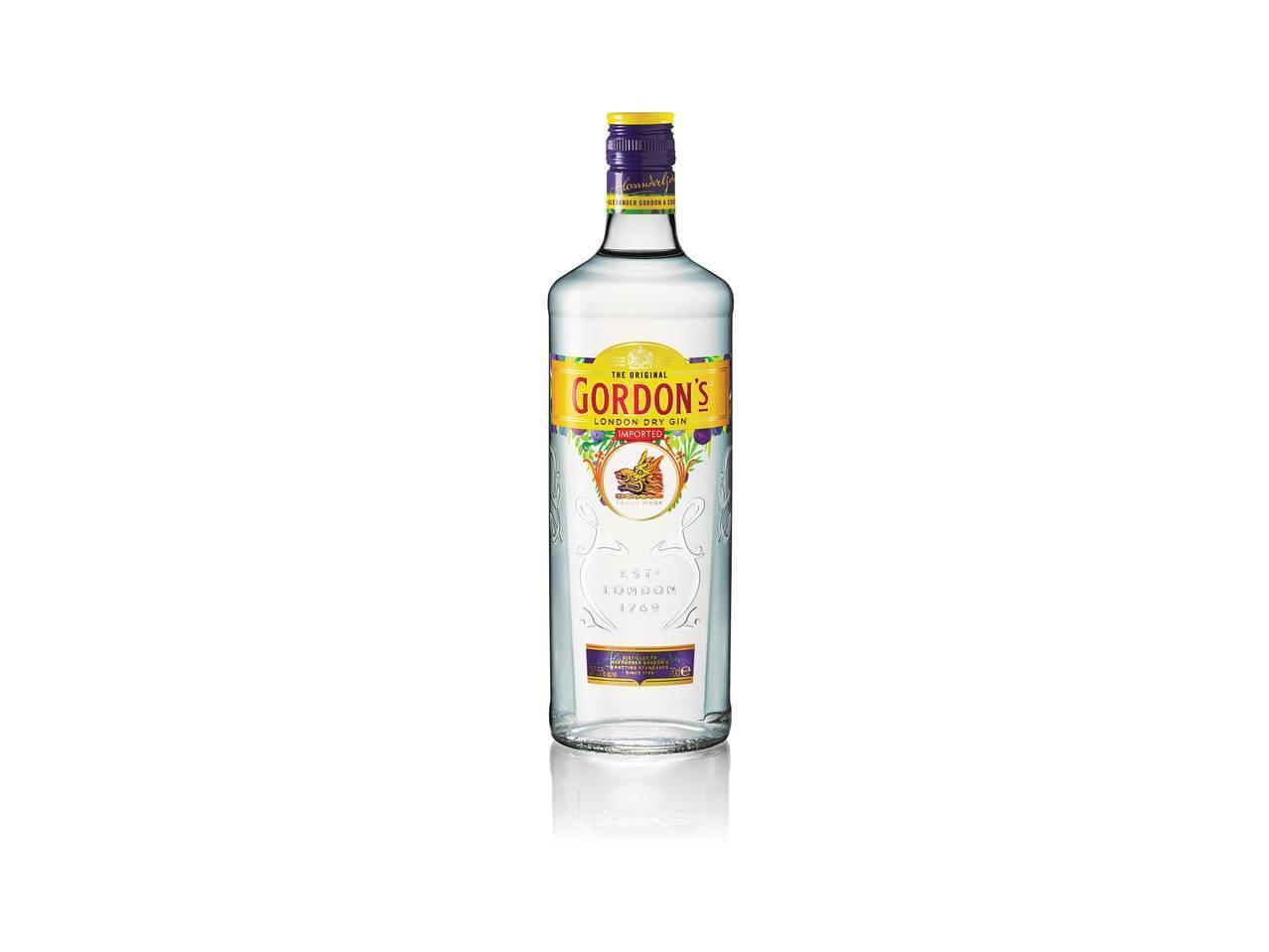 Джин gordons (гордонс) — история создания и характеристика напитка