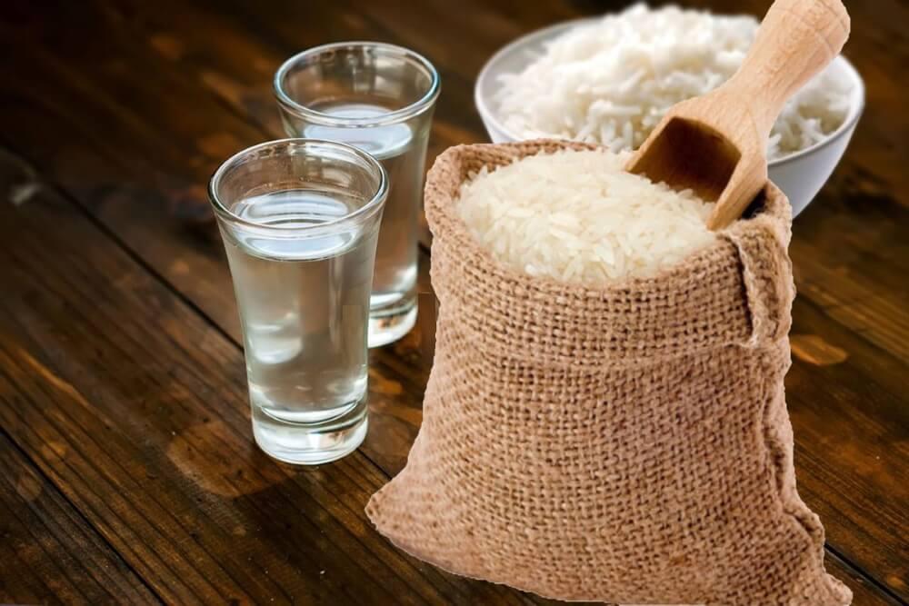 Самогон из риса