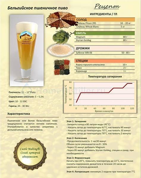 Простые рецепты крафтового пива для домашнего приготовления