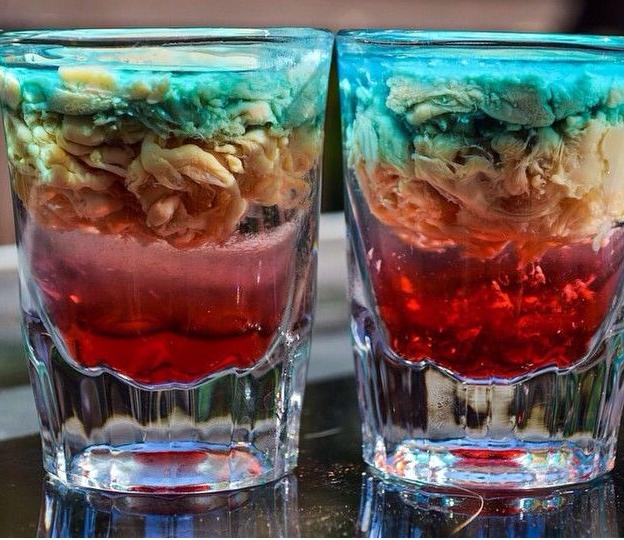 Коктейль медуза: фото, классический рецепт алкогольного шота и описание, как приготовить вариации пошагово, состав и пропорции напитка | mosspravki.ru