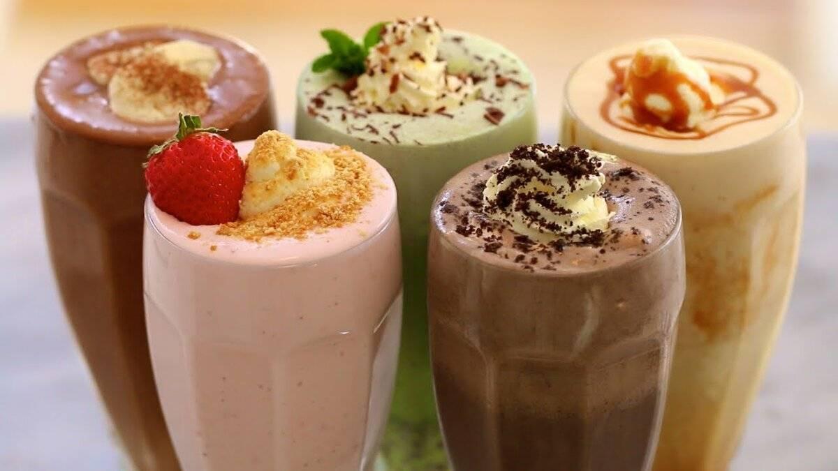 Новогодние рецепты: молочные коктейли