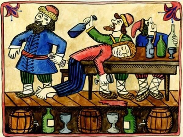 История алкоголя и человечества   алкогольные напитки