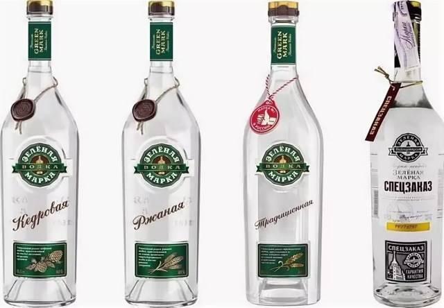 Обзор водки Зеленая марка