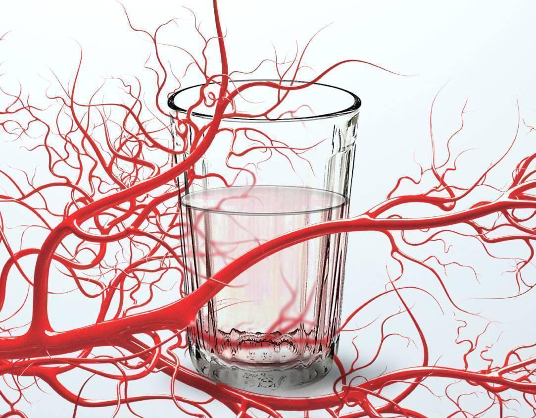 Алкоголь расширяет или сужает сосуды