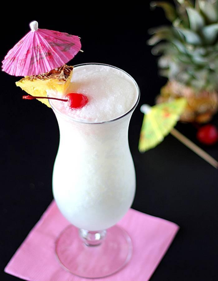 Коктейль «пина колада» — рецепт мечты о карибском море, в бокале!