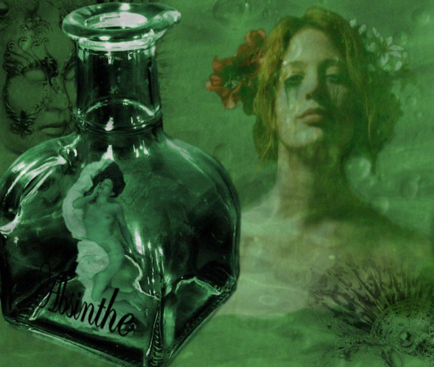 Абсент — почувствовать «зеленую фею» и остаться живым