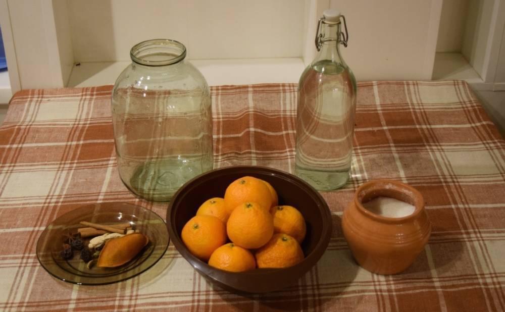 Делаем настойку на мандариновых корках по-домашнему