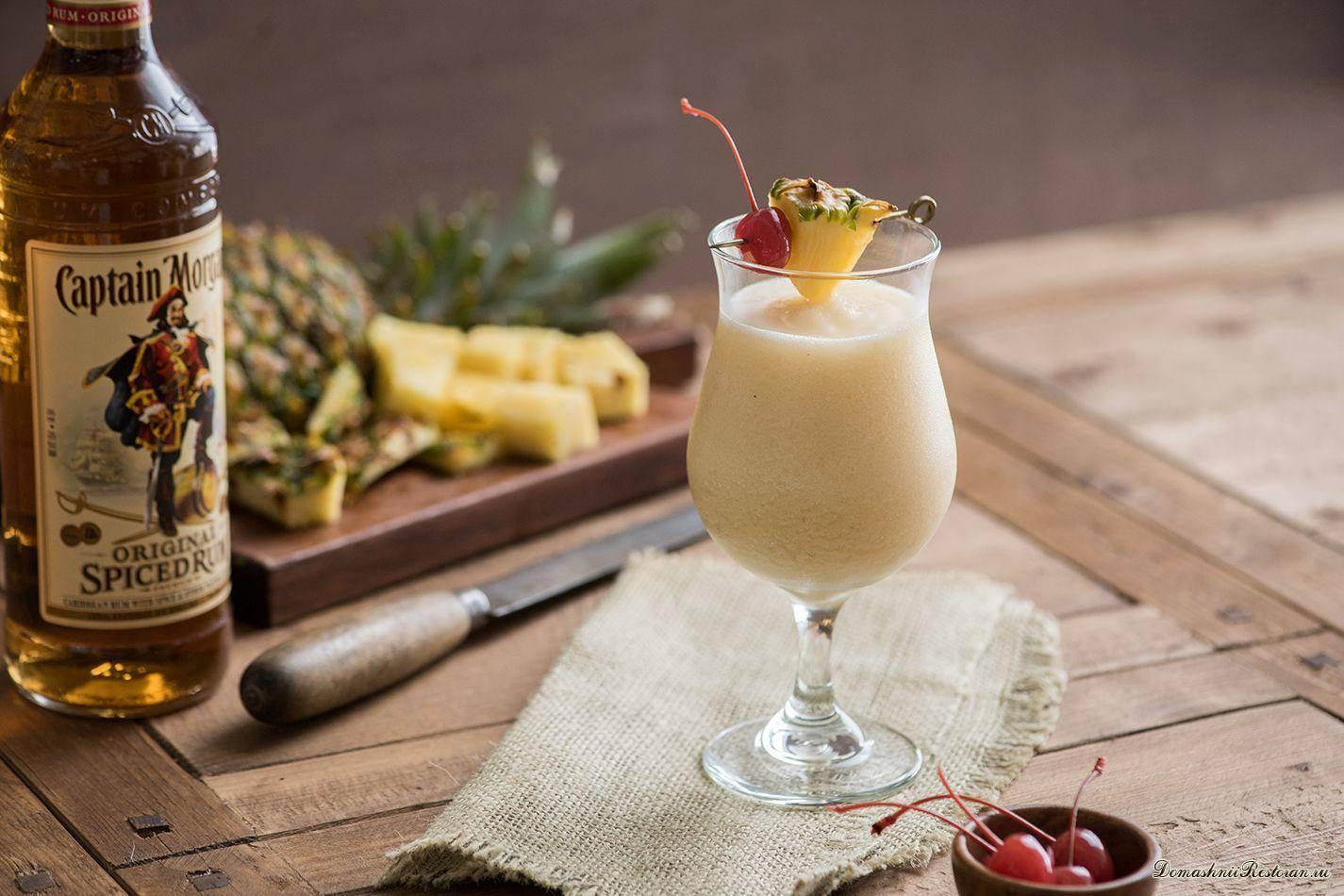 Пина колада: состав коктейля, рецепт приготовления в домашних условиях