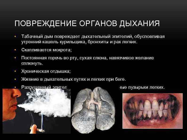 Головокружение при курении кальяна