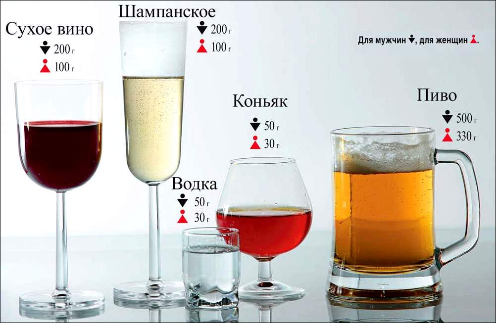 Пиво или вино: что лучше, что вреднее, сравнение по пунктам