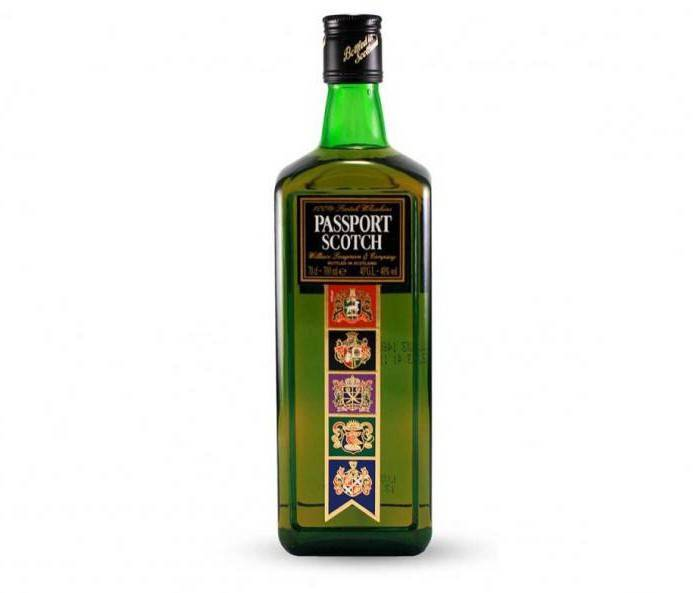 Виски passport scotch (пасспорт скотч): описание марки