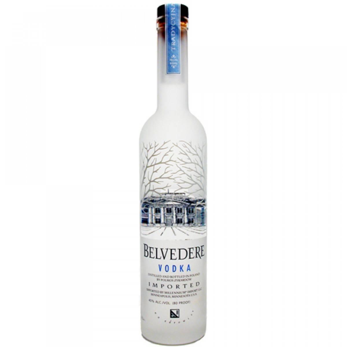 Водка бельведер и ее особенности