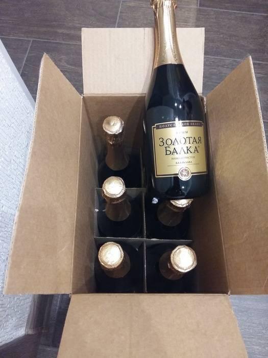 Сколько шампанского в коробке - доктор петров