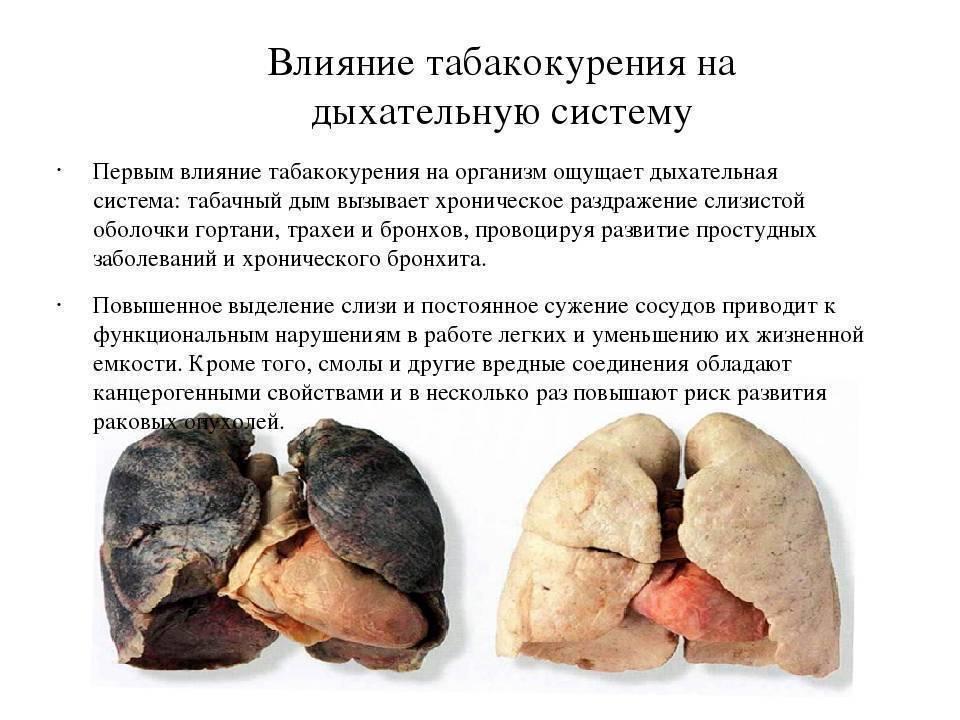 Вредное влияние глицерина в электронных сигаретах на организм