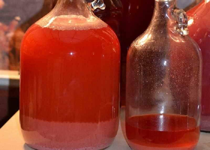 Вино из варенья - рецепты в домашних условиях из старого, забродившего или засахаренного варенья