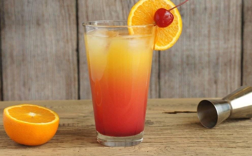 Рецепт приготовления коктейля Восходящее солнце