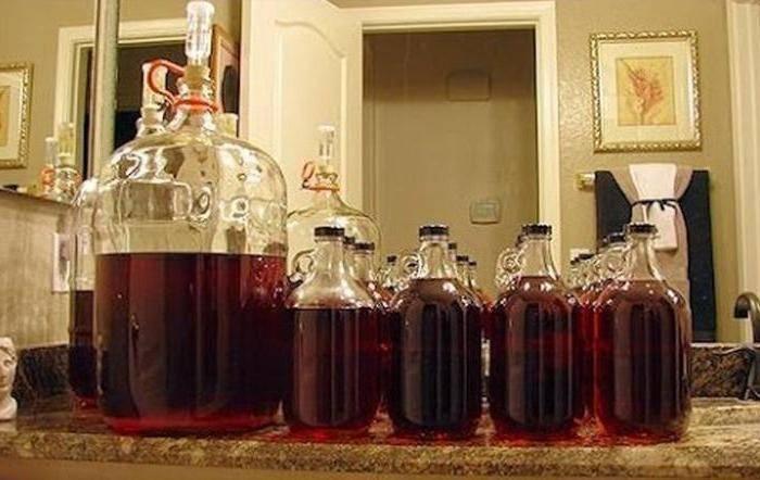Готовим самогон из вина