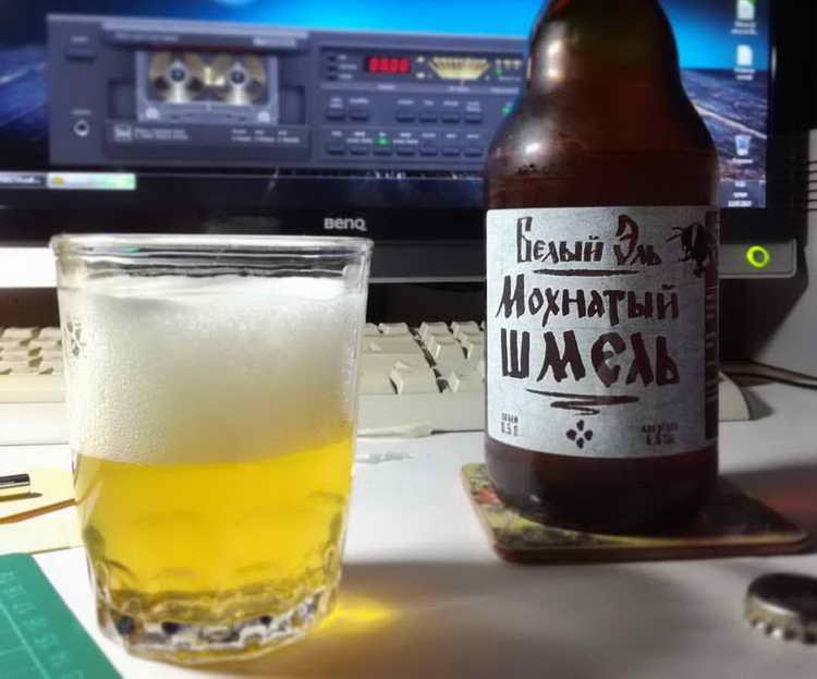 Эль мохнатый шмель   beernotes