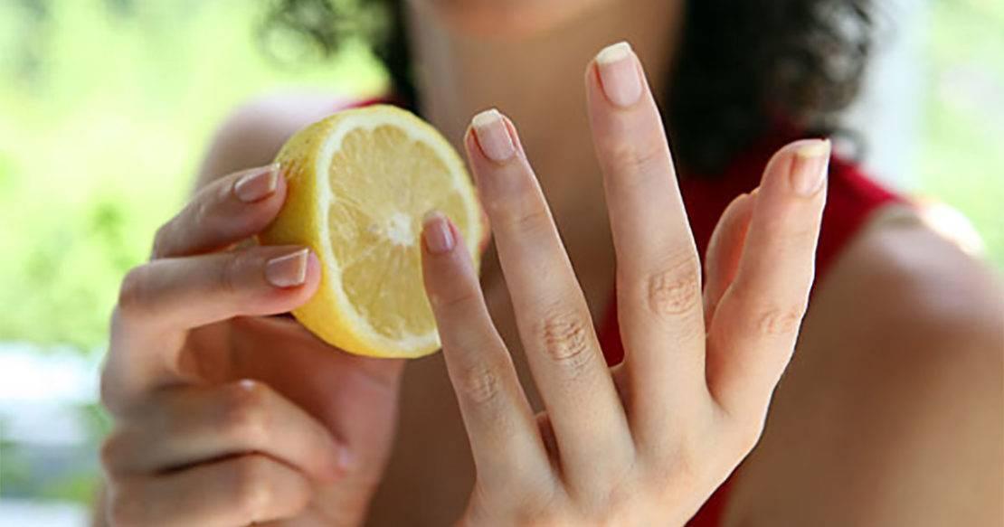 Пожелтел палец