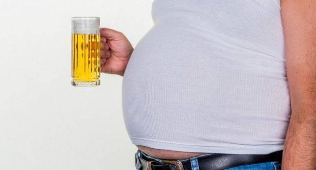 Пивной живот у мужчин и женщин: правда ли, что он растет от пива, причины с фото и видео