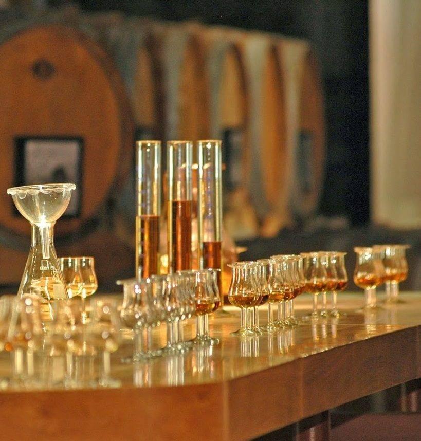 Производство и виды купажированного виски