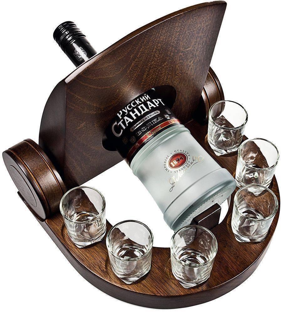 Алкоголь в подарок, выбираем спиртное в подарок 2018