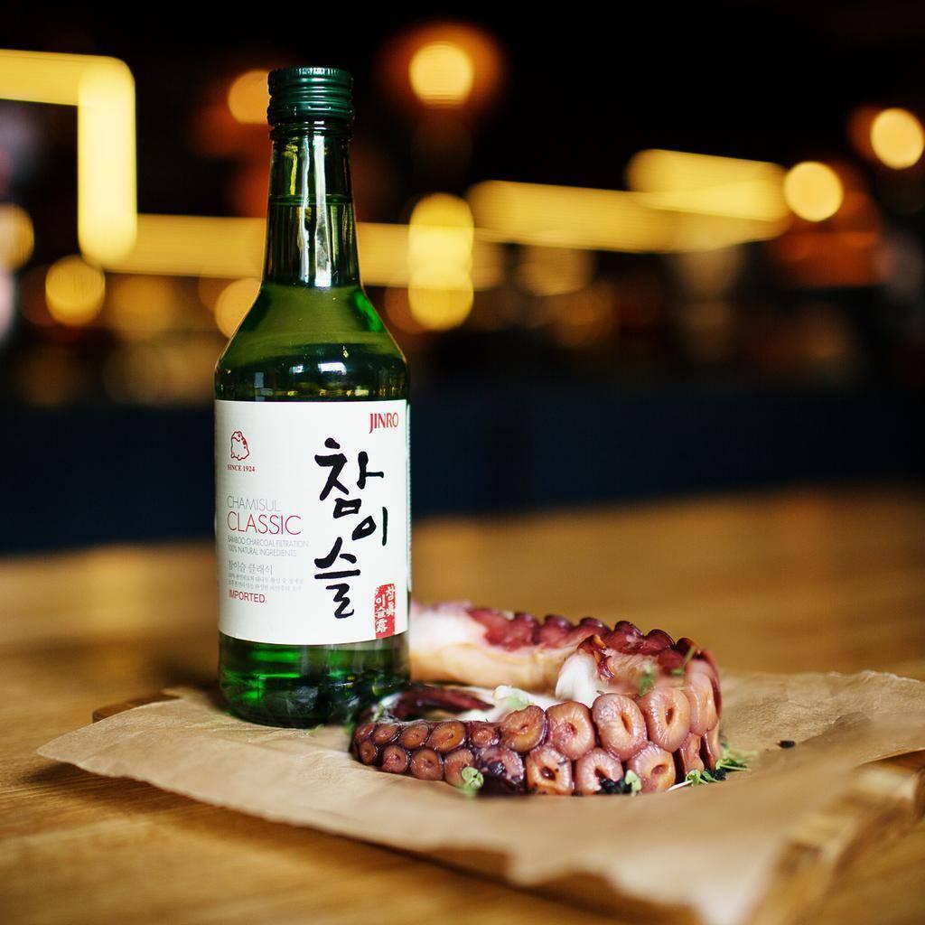 Что такое корейская водка соджу?