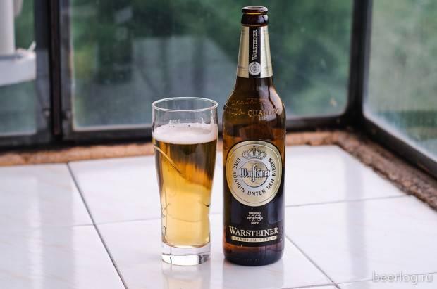Пиво варштайнер (warsteiner): что говорят о вкусовых качествах покупатели и какая цена в магазинах