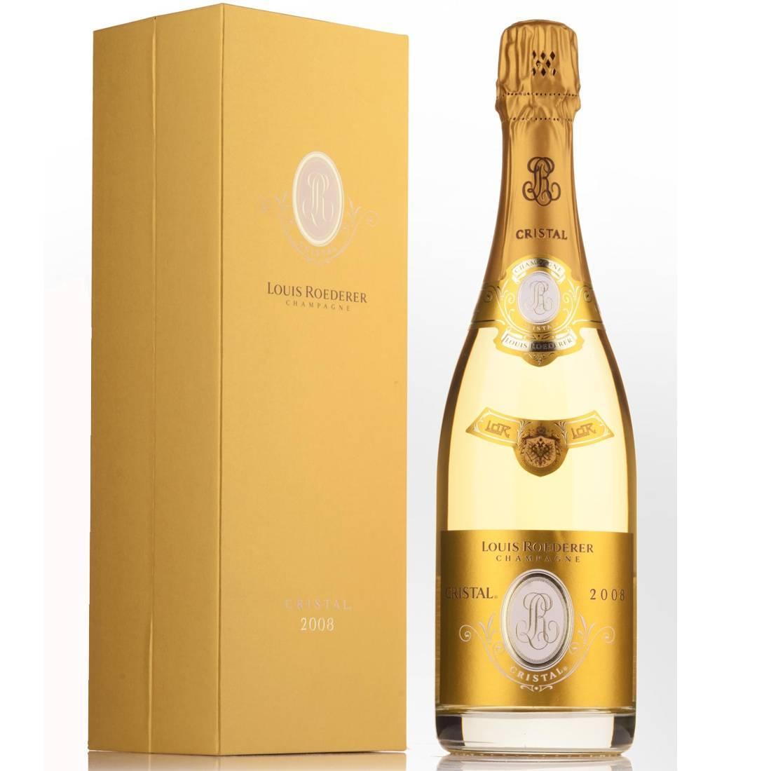 Дорогое шампанское кристалл — история алкоголя