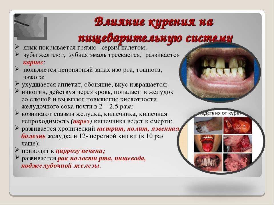 Как курение влияет на печень: симптомы поражения, болезни