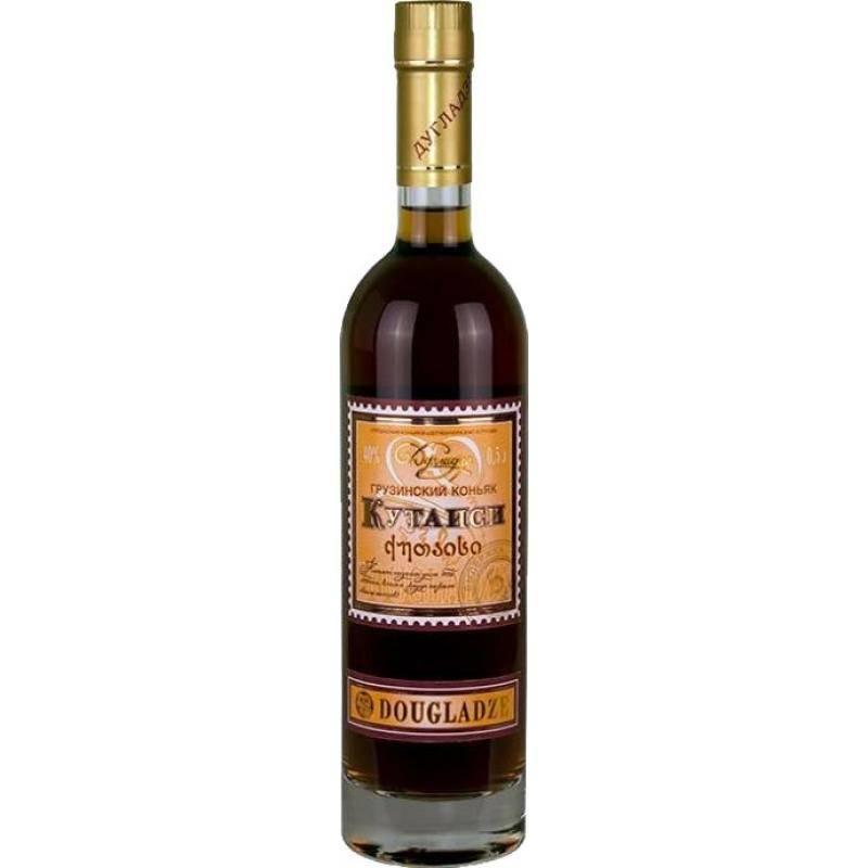 Коньяк dugladze «дугладзе» — стоимость алкоголя с бархатистым вкусом, мнения покупателей