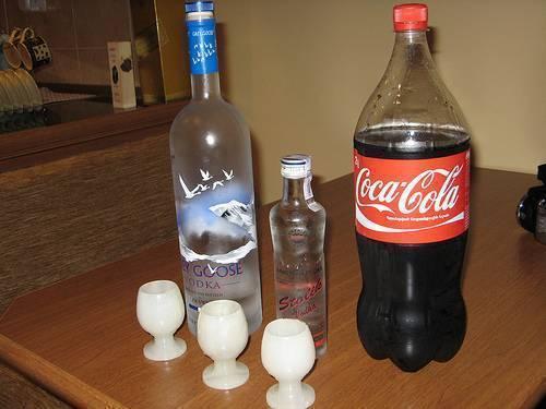 Ром с колой: пропорции коктейля, рецепт   koktejli.ru