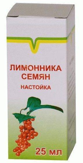 Применение настойки лимонника, полезные свойства и вред