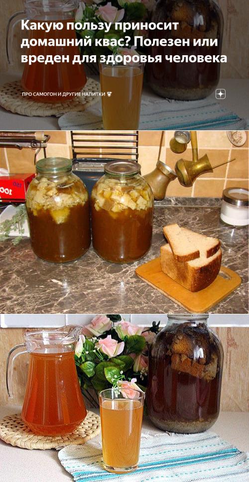 Польза кваса, рецепты приготовления в домашних условиях