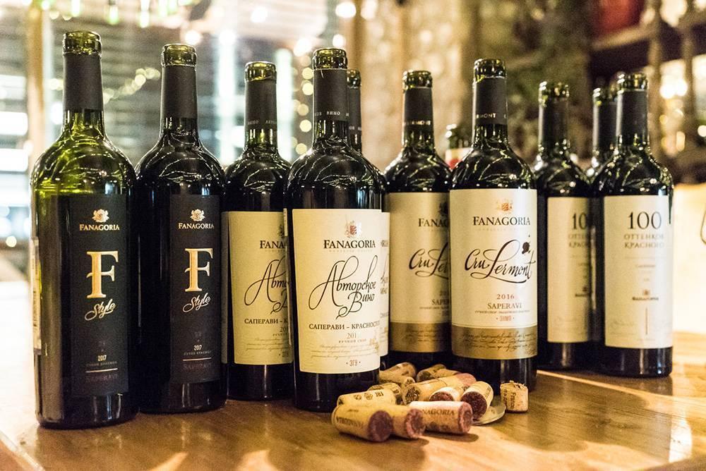 Красное вино фанагория: что нужно знать, описание сорта, отзывы