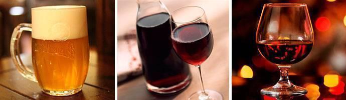 Какой алкоголь можно пить при гастрите с повышенной кислотностью и язве
