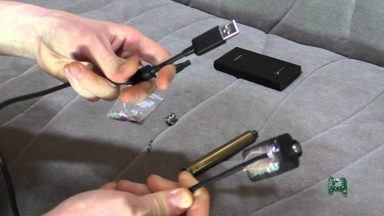 Как правильно зарядить электронную сигарету через usb, от розетки, без зарядки, почему вейп не заряжается