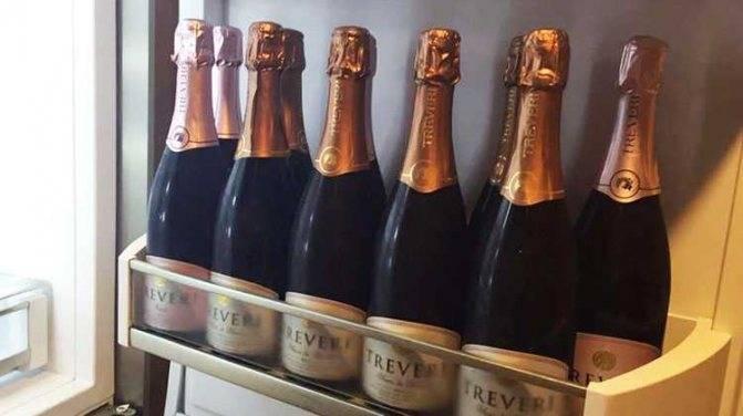 Срок годности шампанского при хранении в закрытом и открытом виде