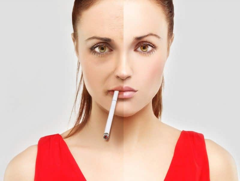 Могут ли быть прыщи от курения?