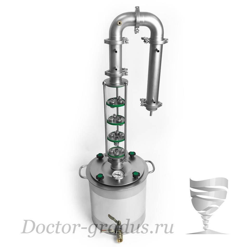 Что лучше выбрать — самогонный аппарат или ректификационную колонну?