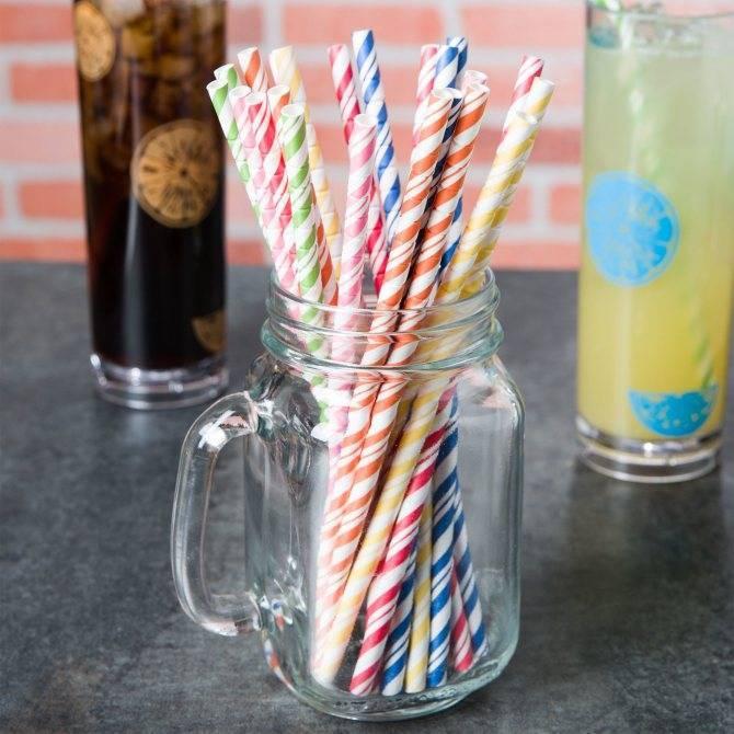 Зачем в коктейлях две трубочки: секреты приготовления напитков ⛳️ алко профи