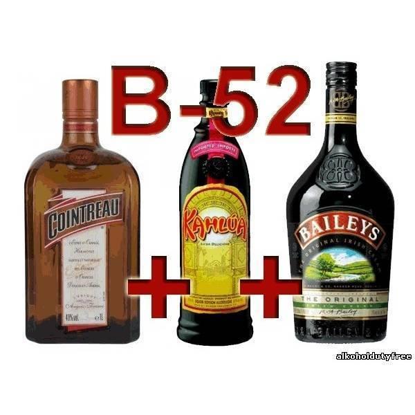 Легендарный слоистый коктейль б-52