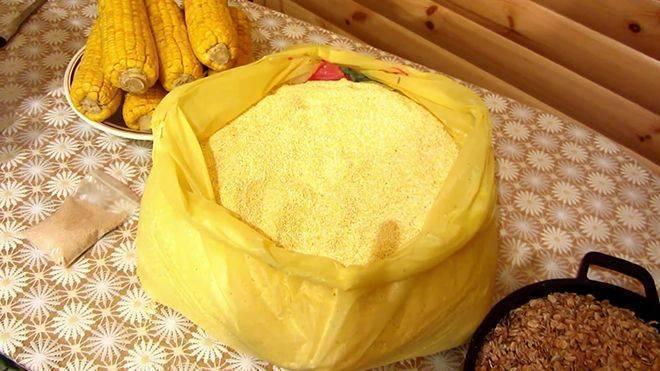 Готовим самогон из кукурузы
