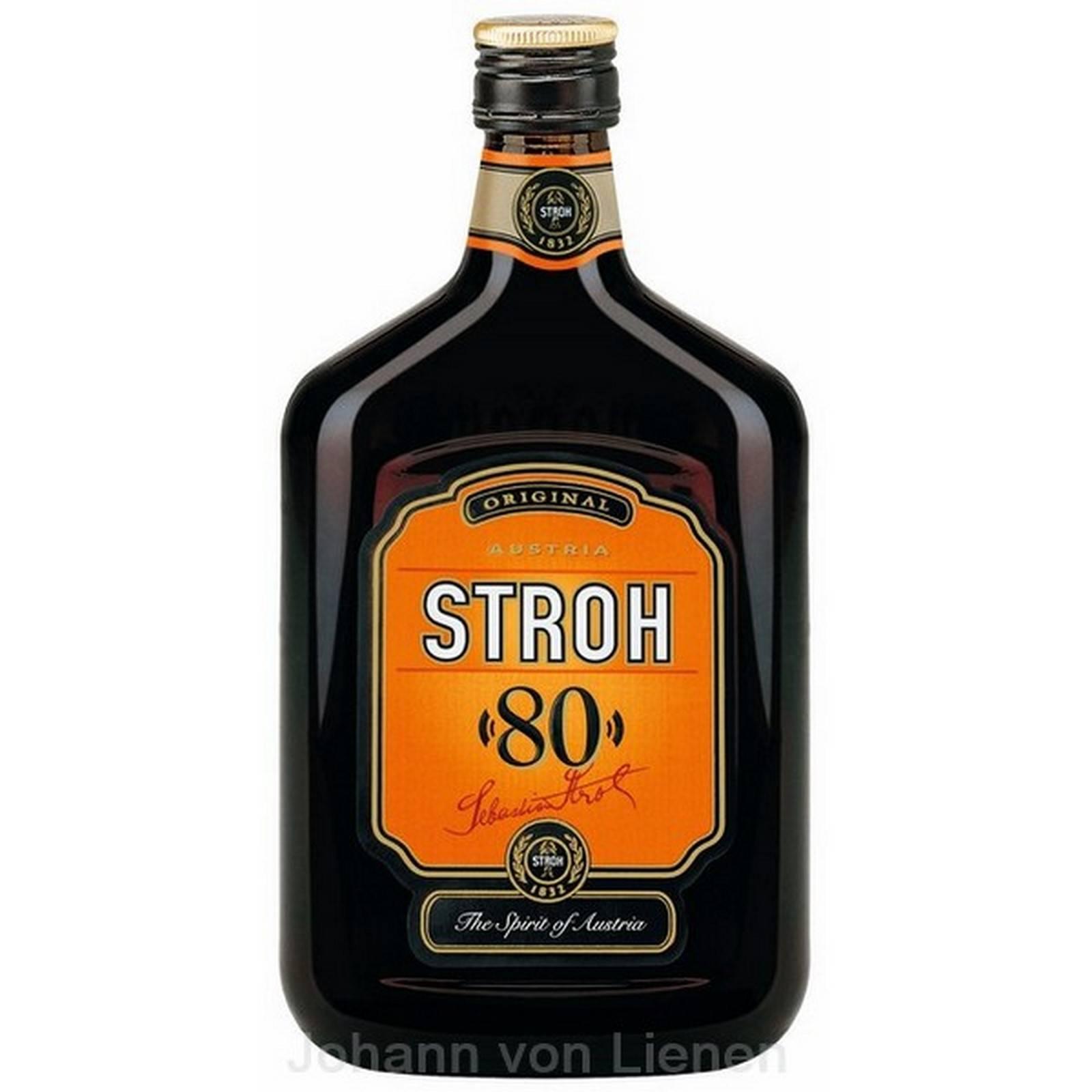 «штро» – австрийский ром для коктейлей и выпечки