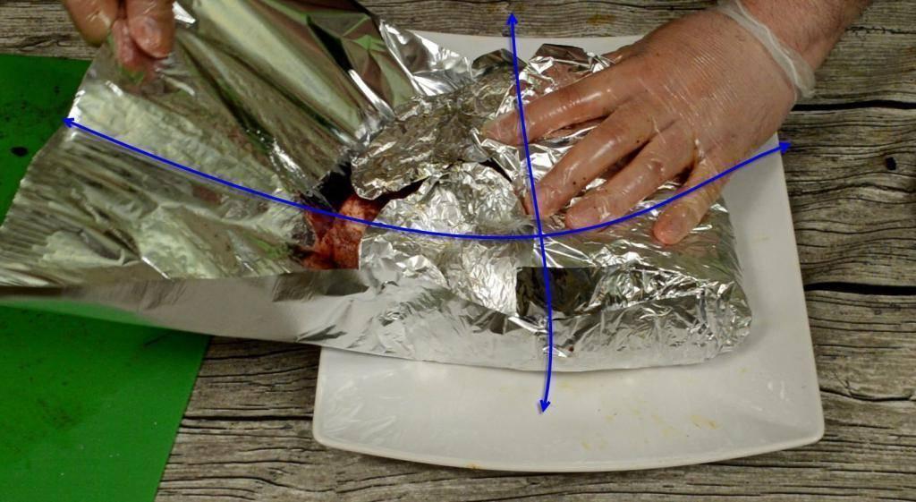 Как класть фольгу на кальян