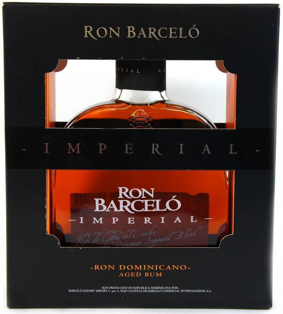 Обзор рома рон барсело аньехо и империал